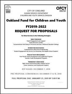 oakland fund for children and youth request for proposals